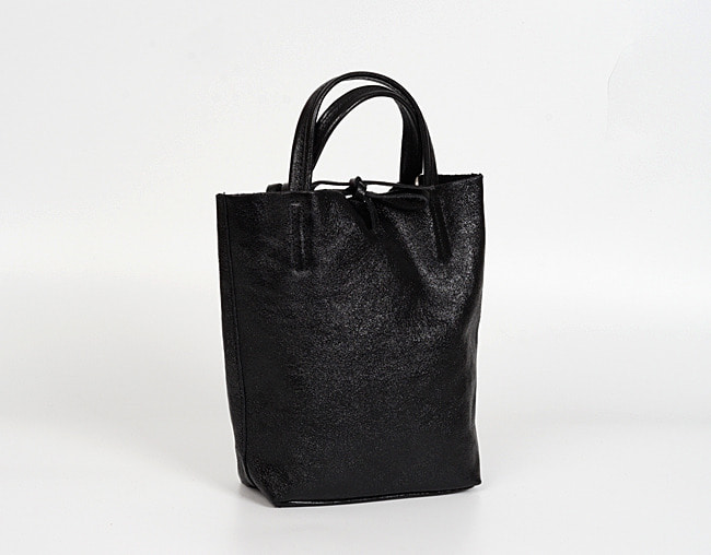 Black shopper bag S
