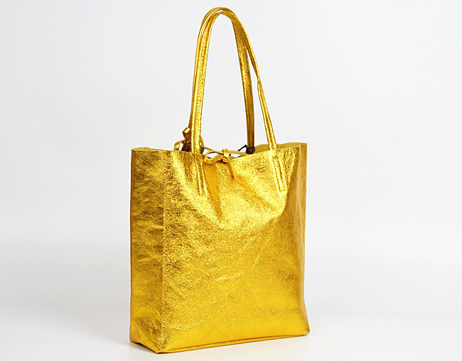 Yellow(NO.L009) shopper bag - Medium