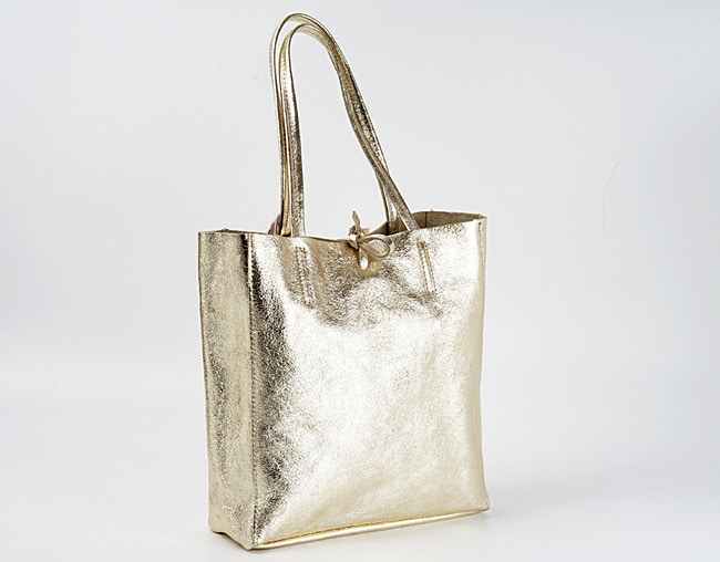 Light Gold shopper bag M