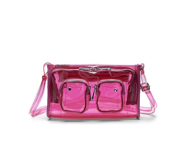 Núnoo Stine transparent pink