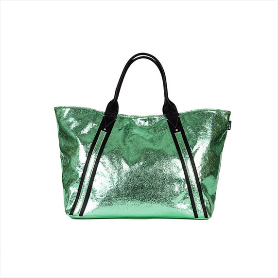 Tote bag zip L - diablo mint 40%SALE