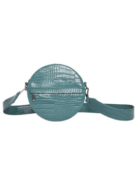 Cayman Shiny Strap Bag Blue