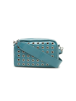 Luster Studded Crossbody Blue