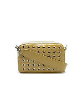 Luster Studded Crossbody Army green