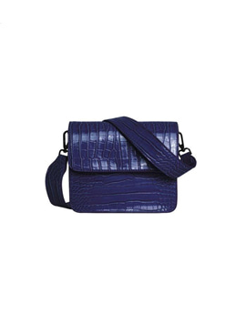 Cayman Shiny Strap Bag Midnight Blue