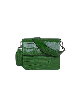 Cayman Shiny Strap Bag Grass Green