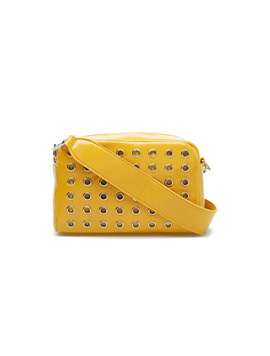 Hvisk Luster Studded Crossbody Curry
