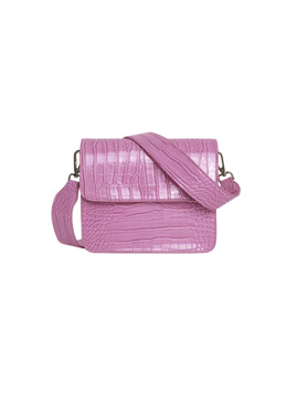 Hvisk Cayman Shiny Strap Bag Pastel purple