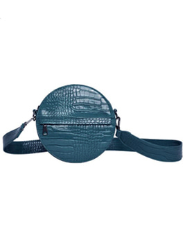 Hvisk Cayman Circle Bag Blue 스트랩크로스백