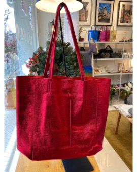 Red shopper bag - Large