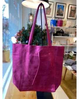 Fuxia shopper bag - Large