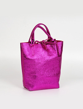 Fuxia shopper bag S