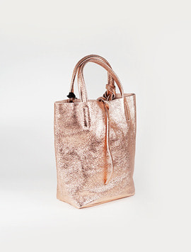 Pink gold(L012) shopper bag S