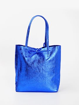 Electric blue(NO.L021) shopper bag - Medium