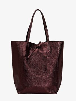 Dark chocolate(NO.L015) shopper bag - Large