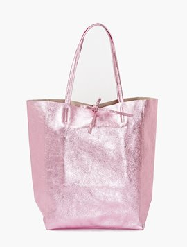 Light pink(NO.L014) shopper bag - Large