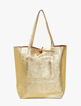 Gold(NO.L004) shopper bag - Large
