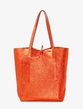 Orange(NO.L010) shopper bag - Large
