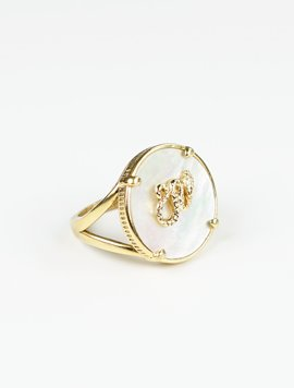 [테소로] Mother of Pearl ring