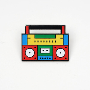 BOOM BOX PIN BY KITRA