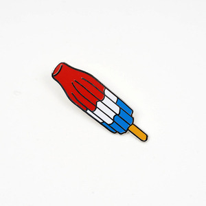 BOMB POP LAPEL PIN