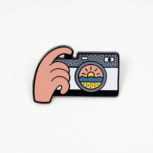 SUNSET SNAP PIN BY LUKE DAY