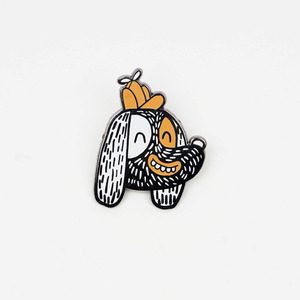 CAMPING PUP PIN BY GRANT KRATZER